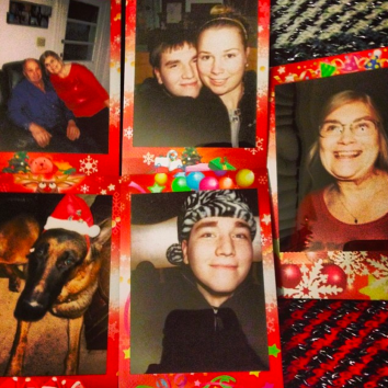 Christmas 2014 with my BF & Parents