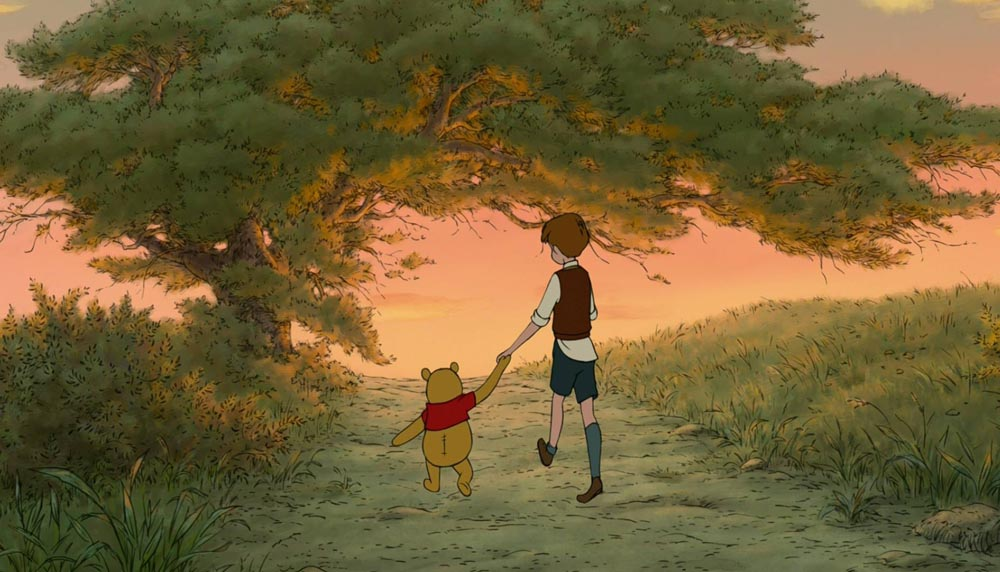 Winnie-the-Pooh-and-Christopher-Robin-walking-into-the-sunset
