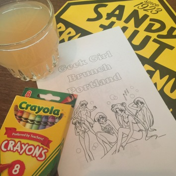 Mimosas and coloring